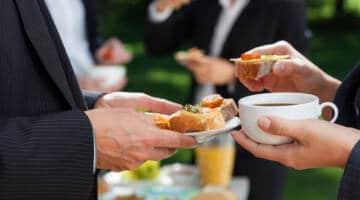 Catering na spotkanie biznesowe