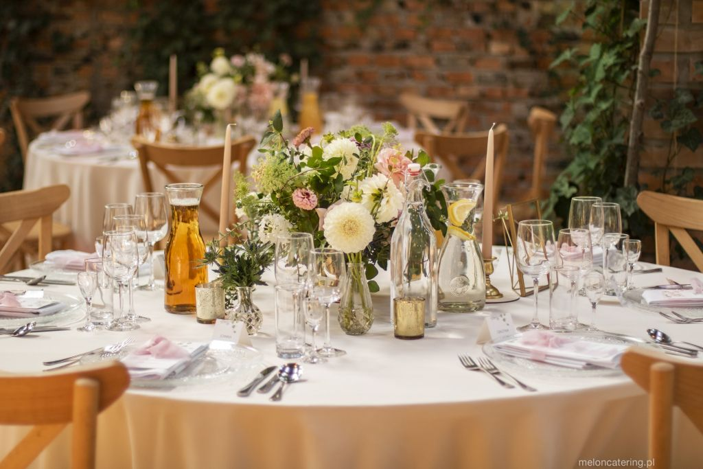 catering wesele boho